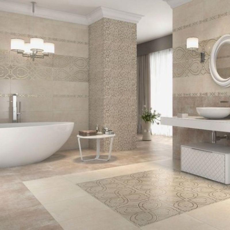 Плитка для ванны напольная