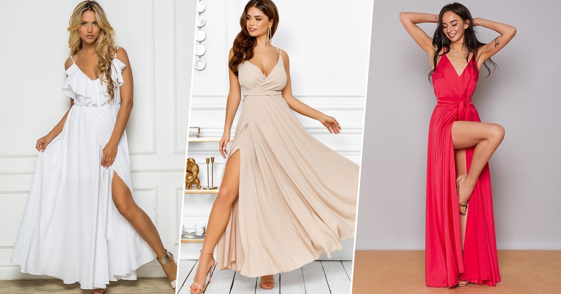 С чем носить летние платья?