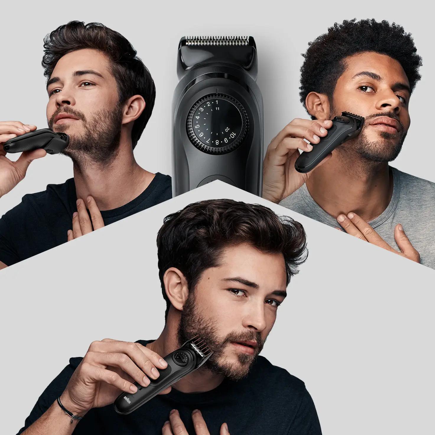 60e6be269c05b - Як створити стильний чоловічий образ з тримерами для бороди Braun