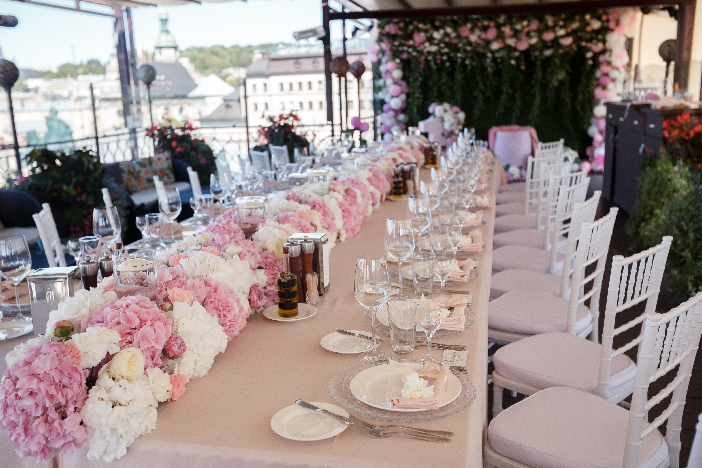 Ексклюзивне весілля у банкетному залі SWISS HOTEL in LVIV
